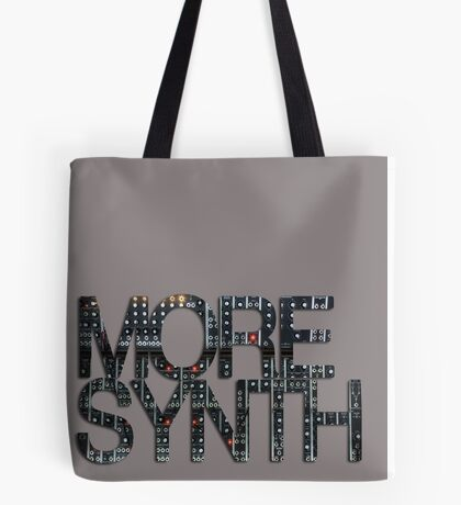 more synth Tote Bag