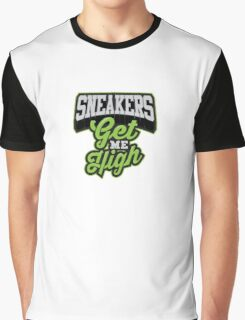 Sneakers Get Me High Graphic T-Shirt