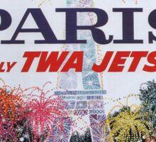 Vintage poster - Paris Sticker