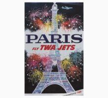 Vintage poster - Paris Baby Tee