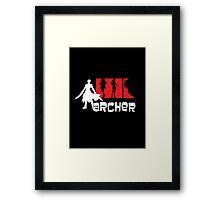 Archer x aRCHER Framed Print