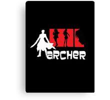 Archer x aRCHER Canvas Print