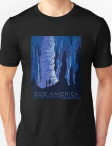 'See America' Vintage Travel Poster (Reproduction) T-Shirt