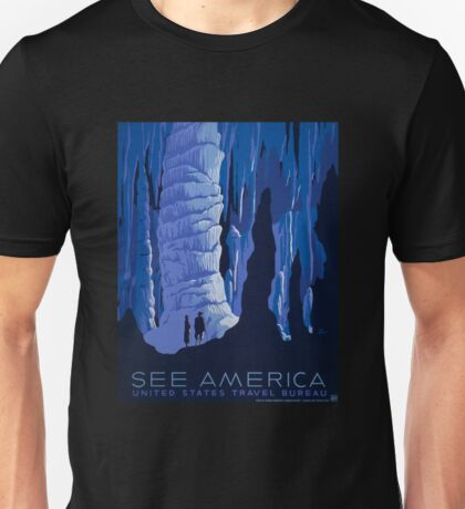 'See America' Vintage Travel Poster (Reproduction) Unisex T-Shirt
