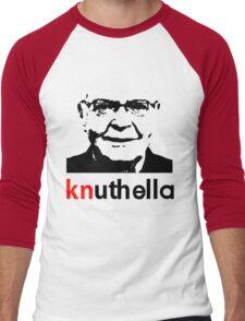 knuthella Men's Baseball ¾ T-Shirt