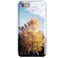 Yellow Tree Blue Sky iPhone Case/Skin