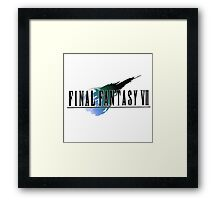 Final Fantasy 7 T-Shirt Framed Print