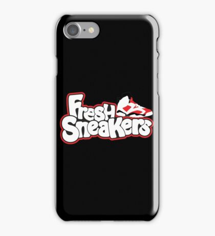 Fresh Sneakers iPhone Case/Skin