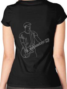Brian Fallon Line Art Women's Fitted Scoop T-Shirt