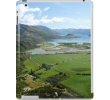 Helicopter High ( 7 ) Wanaka just after take-off. iPad Case/Skin