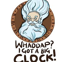 I got a big clock by DeePeeIllustr