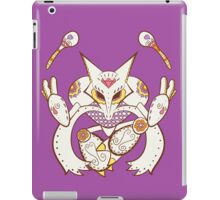 Alakazam Pokemuerto | Pokemon & Day of The Dead Mashup iPad Case/Skin