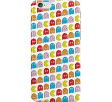 Pacman (White) iPhone Case/Skin