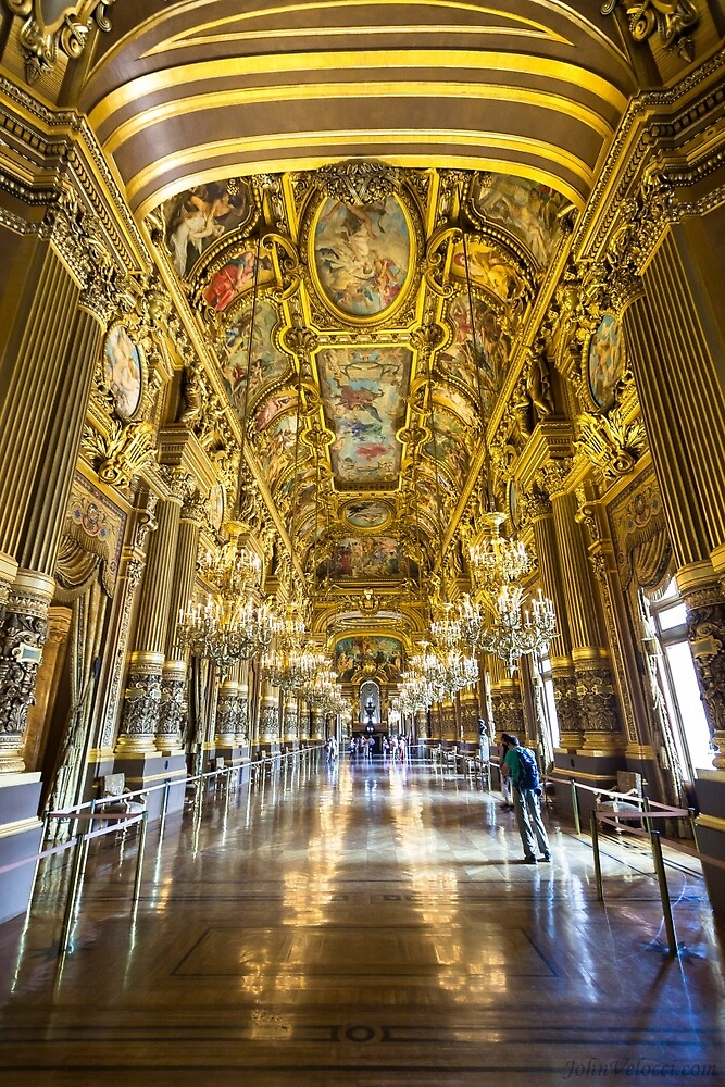 Opera House, Paris 5 by John Velocci