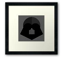 Darth Vader in 2D Framed Print