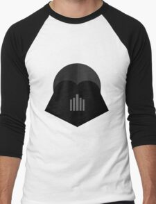 Darth Vader in 2D Men's Baseball ¾ T-Shirt