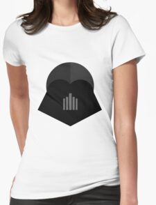 Darth Vader in 2D Womens Fitted T-Shirt