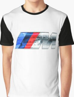 BMW E46 M3 GT ///M Overlay Graphic T-Shirt