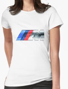 BMW E46 M3 GT ///M Overlay Womens Fitted T-Shirt
