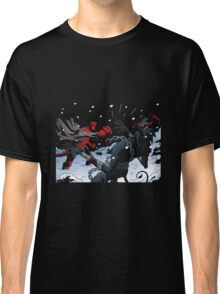 krampus vs hell boy Classic T-Shirt