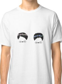 dan and phil with flower crowns Classic T-Shirt