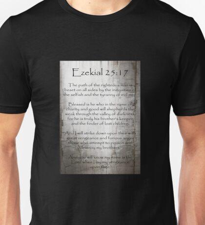 Ezekial 25:17 Unisex T-Shirt