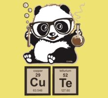 Chemistry panda discovered cute One Piece - Short Sleeve