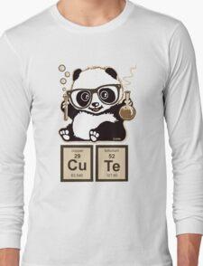 Chemistry panda discovered cute Long Sleeve T-Shirt