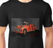 1955 Diamond T Fire Truck - An American Classic Unisex T-Shirt