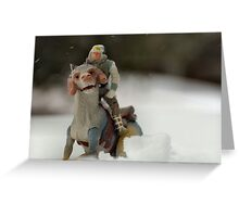 Is Hoth in Iowa?  Greeting Card