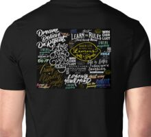 Wordy Word Words...for inspired people.  Unisex T-Shirt