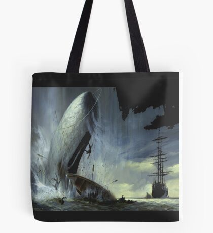 The monsters from in the heart of the sea movie Tote Bag