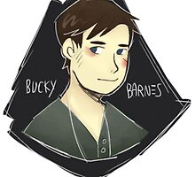bucky barnes by kirk the jerk