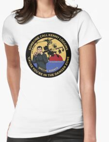 Archer FX - Someone Call Kenny Loggins Womens Fitted T-Shirt
