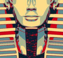 Tutankhamen (Tut Tut) Hope Poster Style Sticker