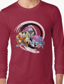 Entei Raikou Suicune Long Sleeve T-Shirt