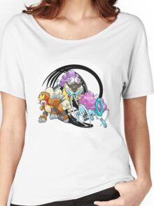 Entei Raikou Suicune Women's Relaxed Fit T-Shirt