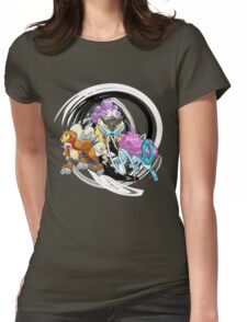 Entei Raikou Suicune Womens Fitted T-Shirt