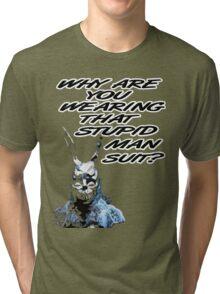 Frank The Rabbit Tri-blend T-Shirt