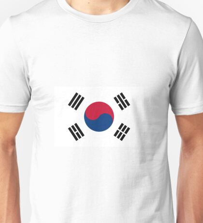 South Korea Flag Unisex T-Shirt