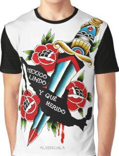 Mexico Lindo y Que Herido Graphic T-Shirt