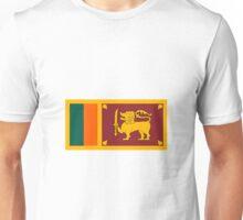 Sri Lanka Flag Unisex T-Shirt