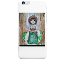 Halfling thief in the woods iPhone Case/Skin