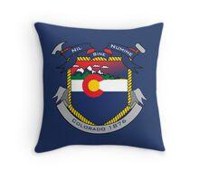 Colorado Crest Throw Pillow