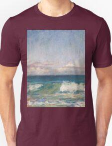 Flynns Beach clouds & waves Unisex T-Shirt