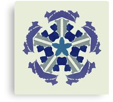 a snowflake for Christmas Canvas Print
