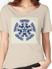 a snowflake for Christmas Women's Relaxed Fit T-Shirt