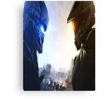 Halo 5 fuckery Canvas Print