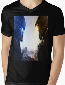 Halo 5 fuckery Mens V-Neck T-Shirt