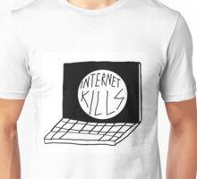 INTERNET KILLS LOGO PRINT Unisex T-Shirt